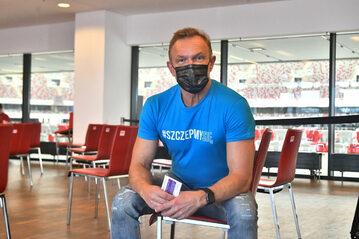 Ambasador kampanii #SzczepimySię aktor Cezary Pazura