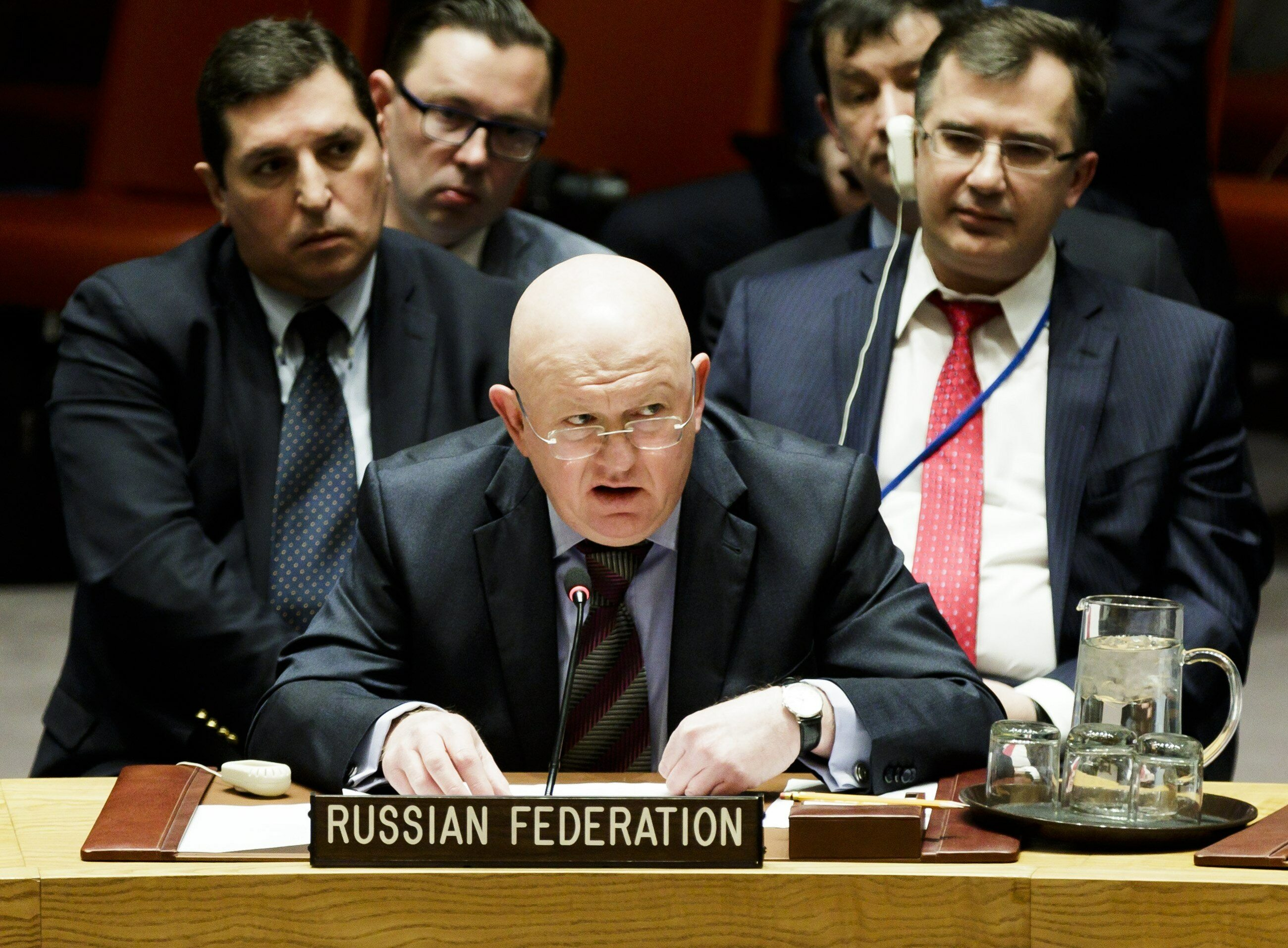 Ambasador Rosji przy ONZ Vassily Nebenzea