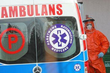 Ambulans pogotowia ratunkowego