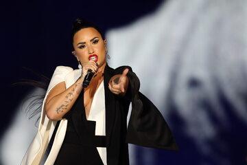Amerykańska piosenkarka Demi Lovato