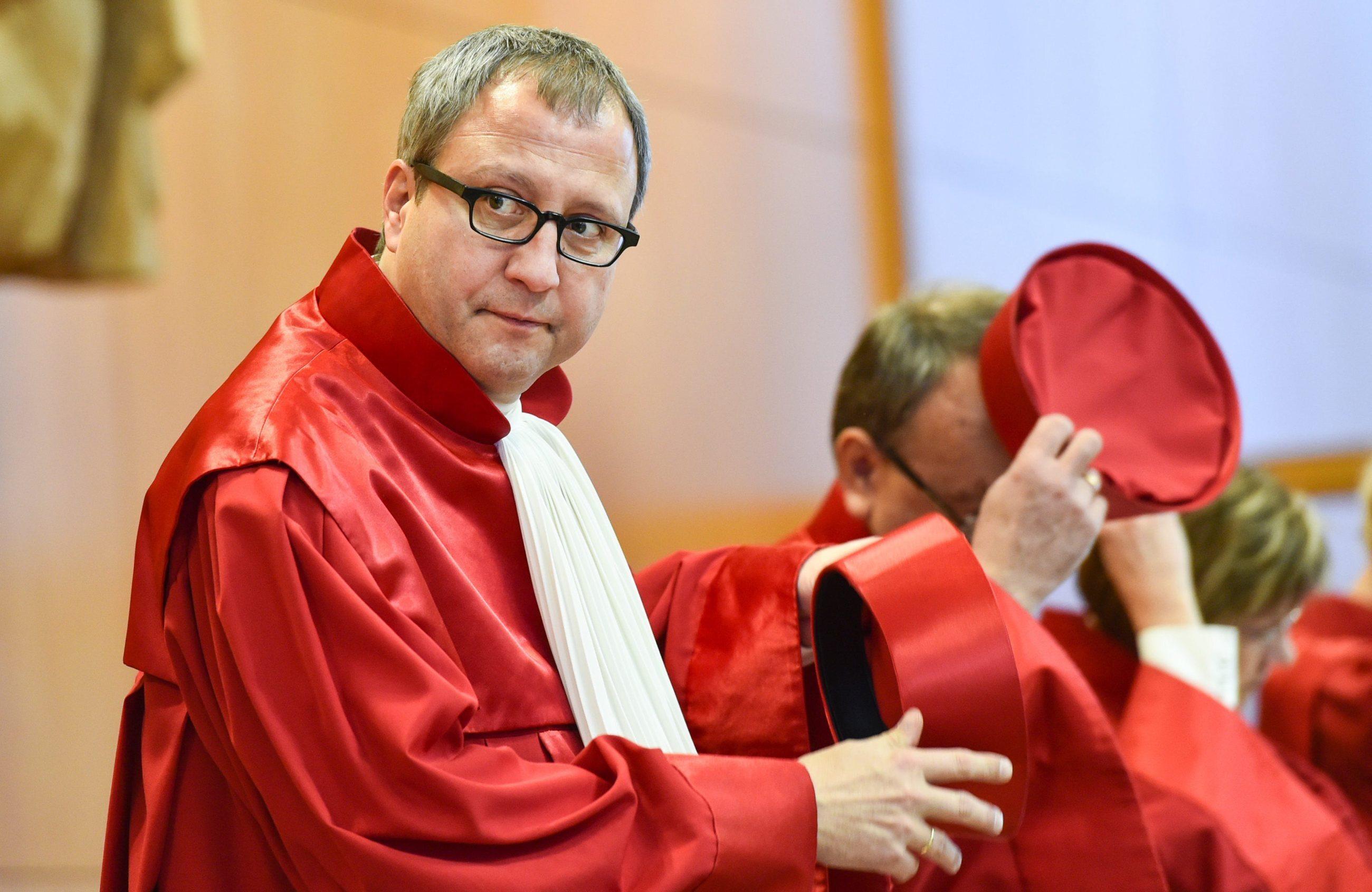Andreas Vosskuhle, szef Federalnego Trybunału Konstytucyjnego