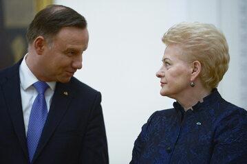 Andrzej Duda, Dalia Grybauskaite