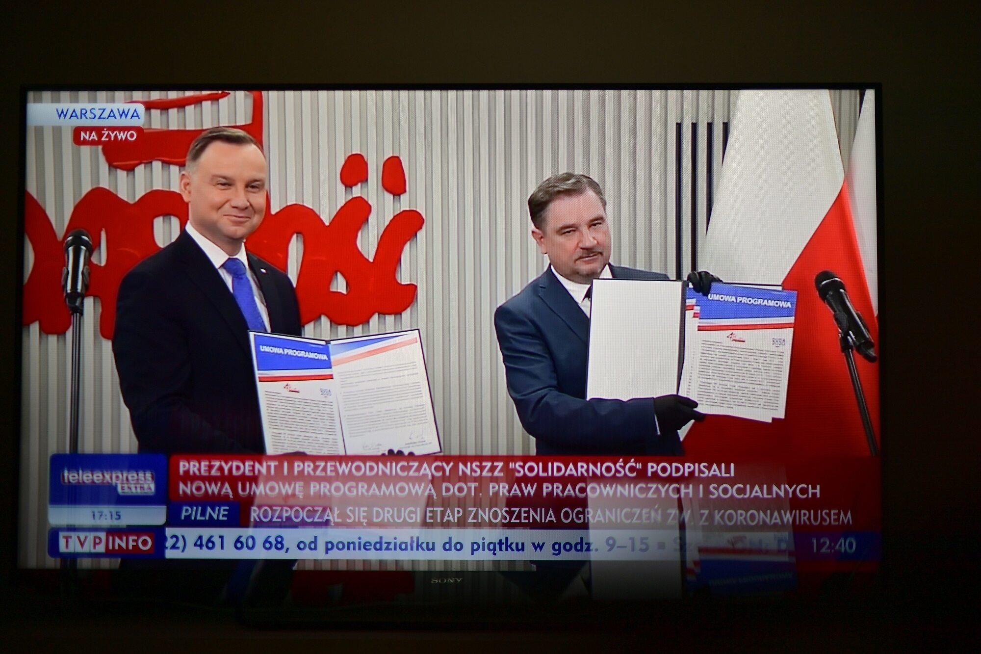Andrzej Duda i Piotr Duda