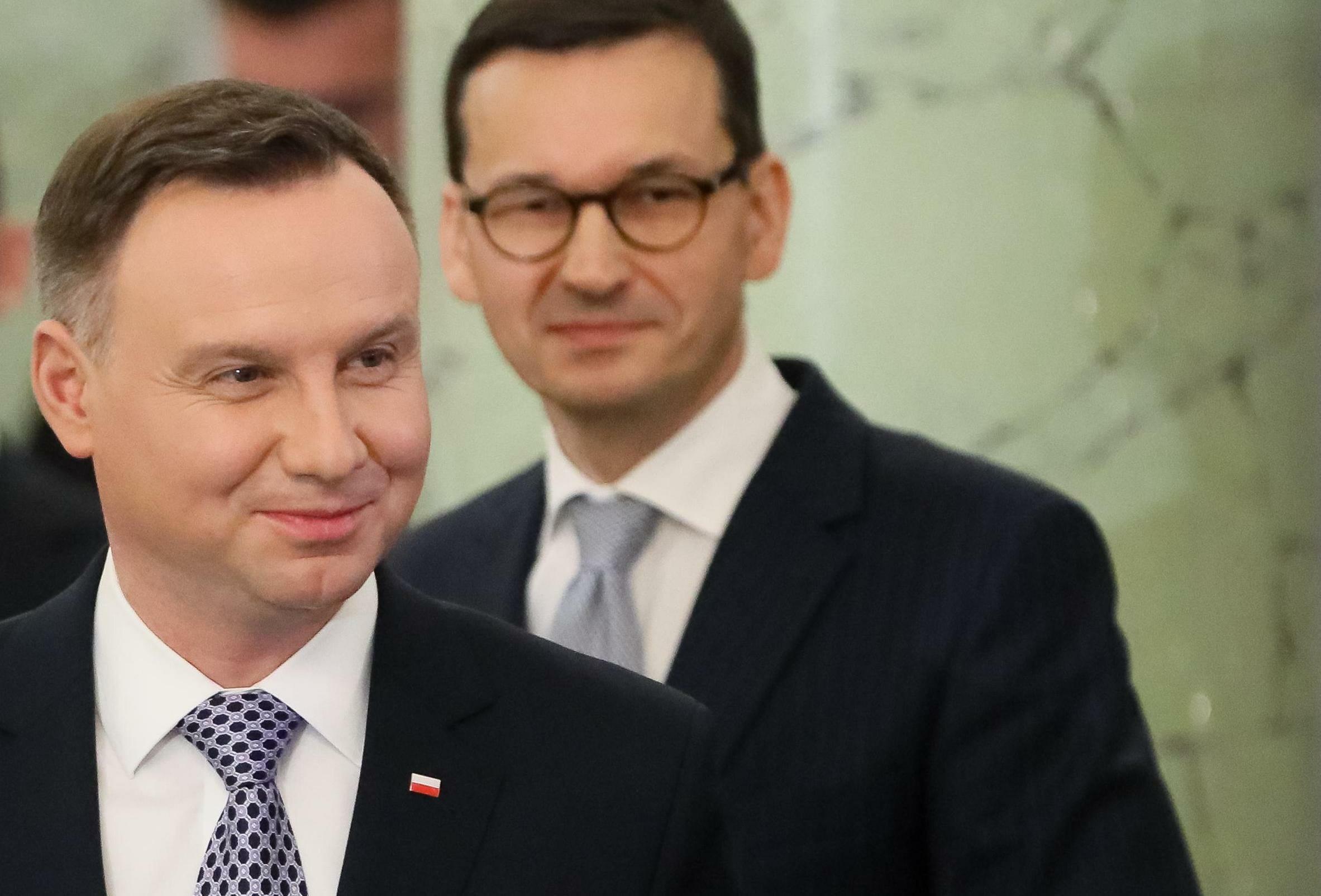 Andrzej Duda, Mateusz Morawiecki