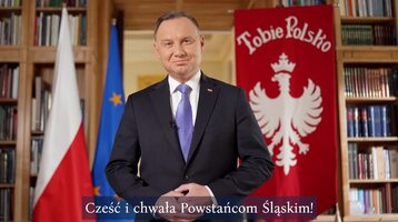 Andrzej Duda w spocie z okazji 100. rocznicy wybuchu III Powstania Śląskiego
