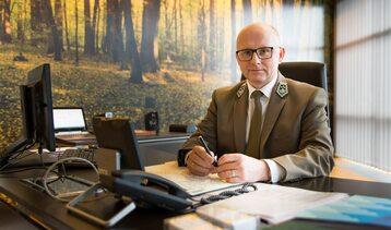 Andrzej Konieczny, dyrektor generalny Lasów Państwowych