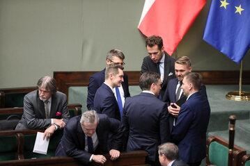 Andrzej Sośnierz, Piotr Gliński, Sebastian Kaleta, Zbigniew Ziobro, Jacek Ozdoba