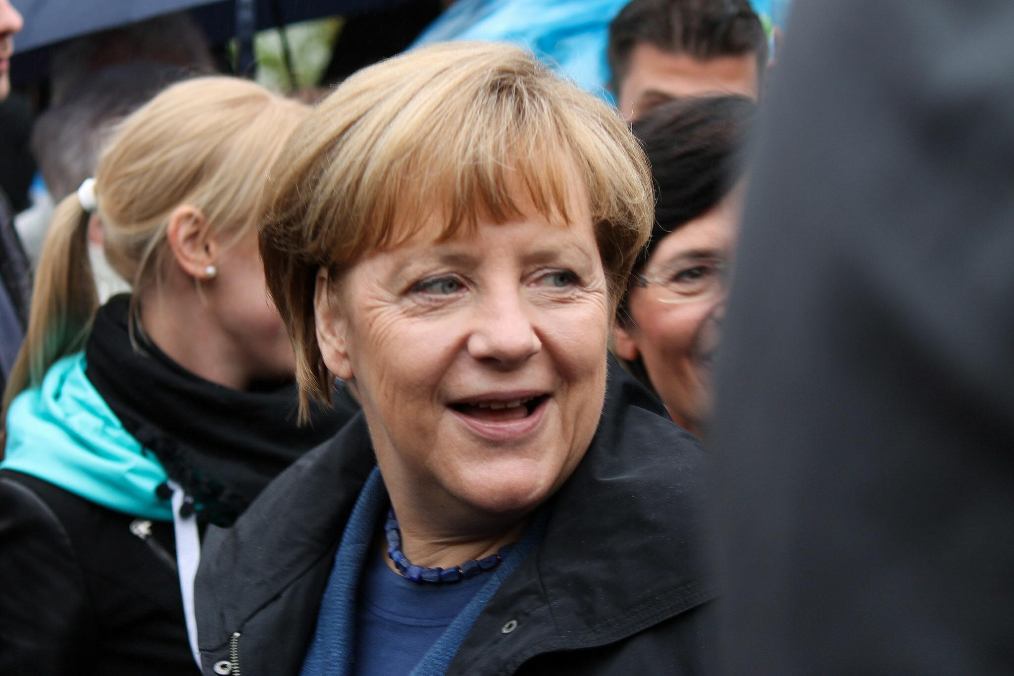 Angela Merkel, kanclerz Niemiec