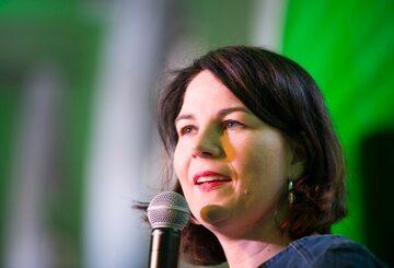 Annalena Baerbock, przewodnicząca Zielonych
