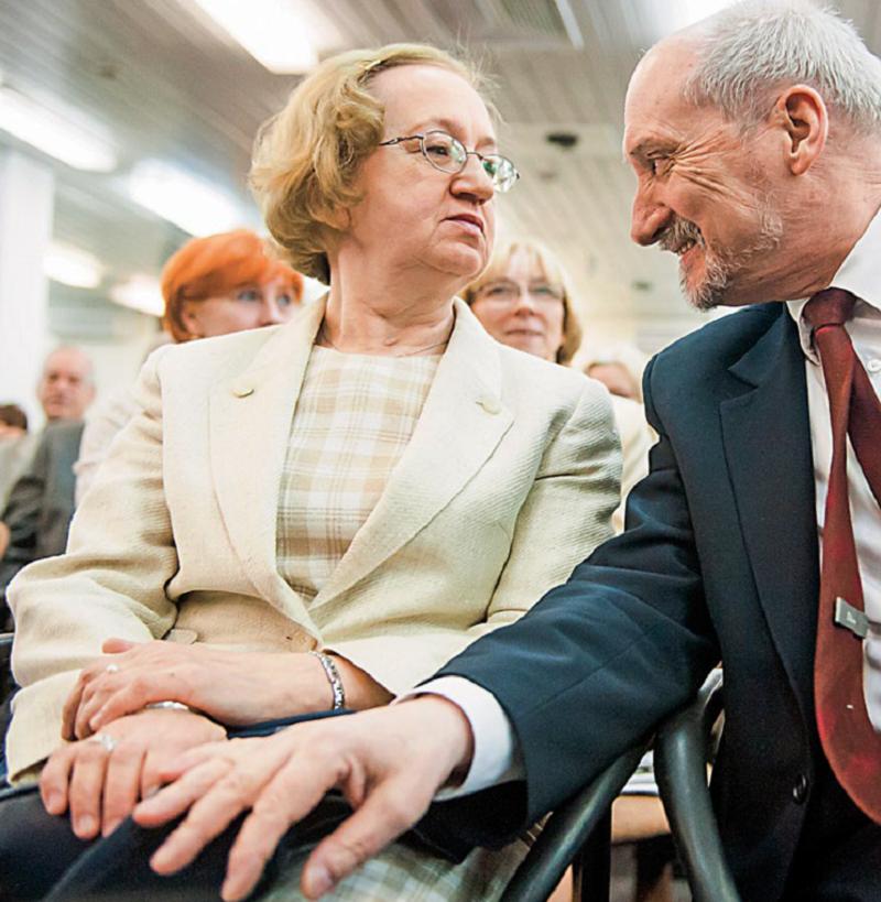 Antoni Macierewicz i Hanna Natora-Macierewicz