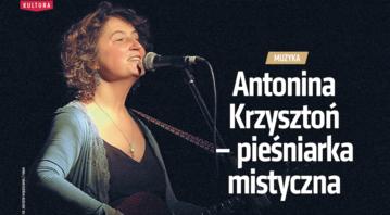 Antonina Krzysztoń – pieśniarka mistyczna