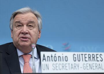 Antonio Guterres, sekretarz generalny ONZ