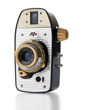 aparat fotograficzny Alfa