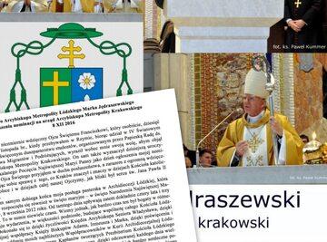 Arcybiskup Marek Jędraszewski został metropolitą krakowskim