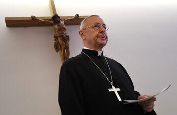 Arcybiskup Stanisław Gądecki, przewodniczący KEP