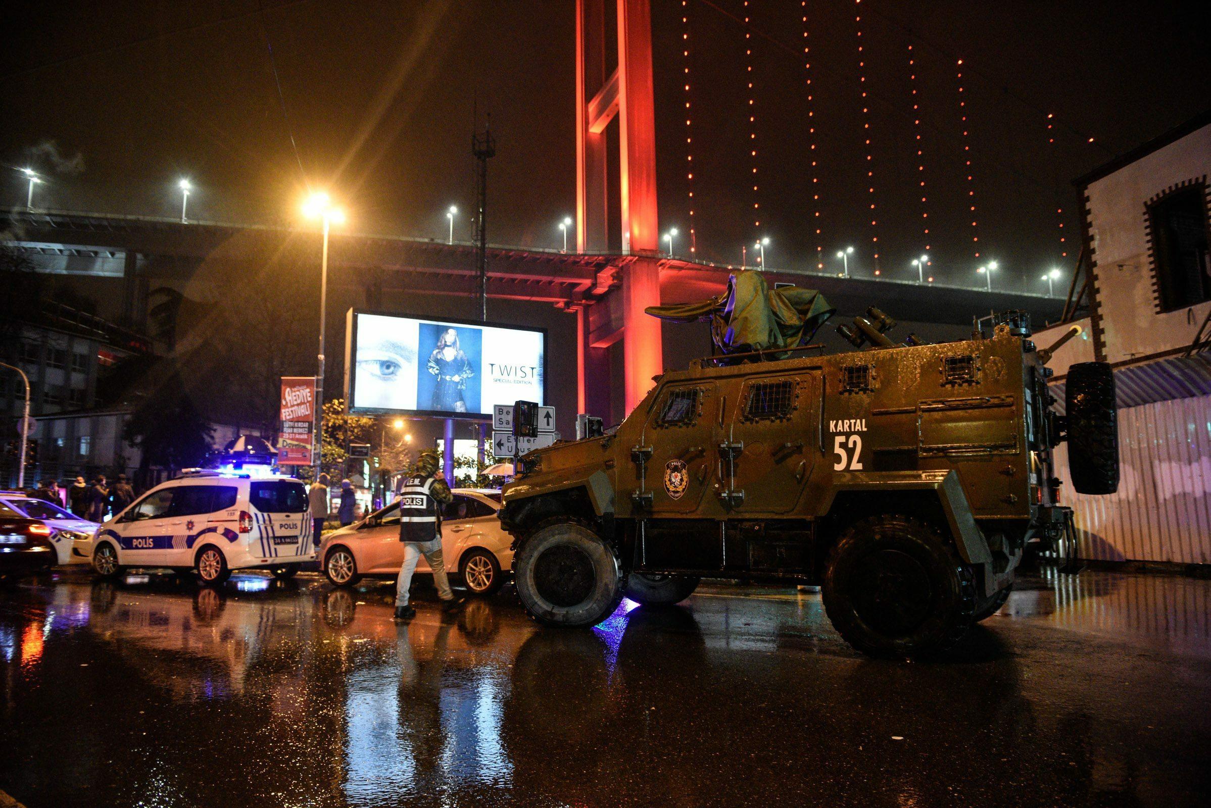Atak w Stambule