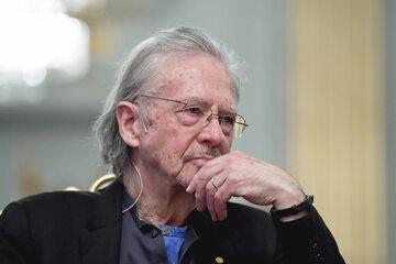 Austriacki pisarz Peter Handke