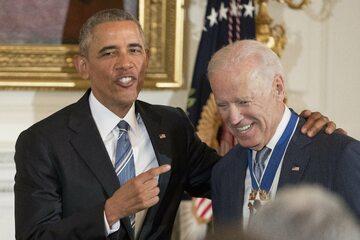 Barack Obama (b. prezydent USA), Joe Biden (b. wiceprezydent USA)