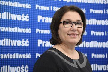 Beata Mazurek, rzecznik klubu PiS