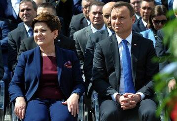 Beata Szydło, Andrzej Duda