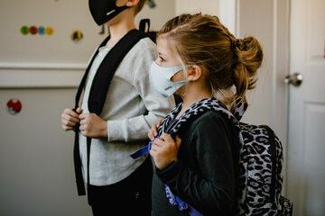 Bezpieczeństwo dzieci w szkole podczas pandemii