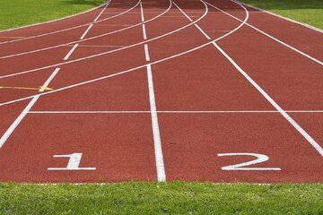 Bieżnia do zawodów lekkoatletycznych