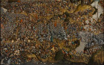 Bitwa pod Orszą (autor nieznany)