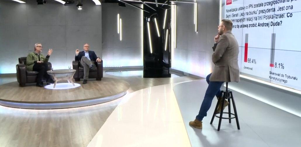 Bitwa Redaktorów z udziałem Pawła Lisickiego i Jacka Żakowskiego