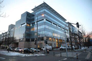 Biurowiec w Warszawie, w którym swoją siedzibę ma Polski Związek Piłki Nożnej