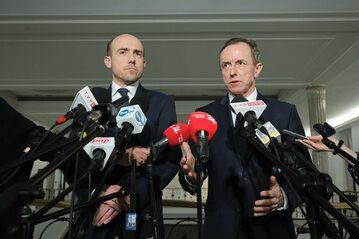 Borys Budka i Tomasz Grodzki