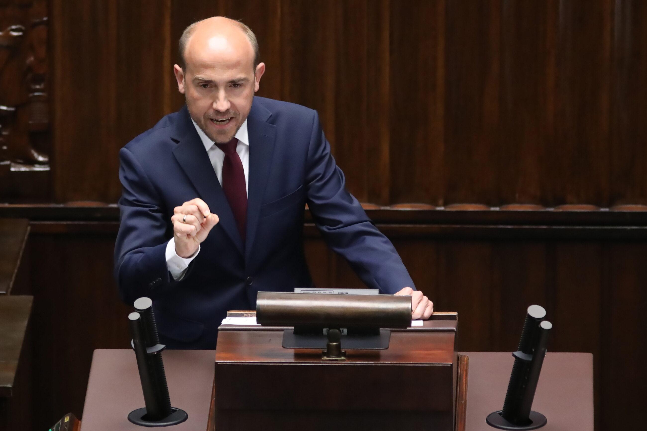 Borys Budka w Sejmie