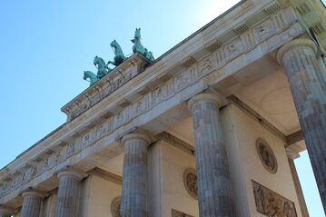 Brama brandenburska, zdjęcie ilustracyjne