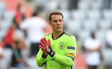 Bramkarz reprezentacji Niemiec Manuel Neuer