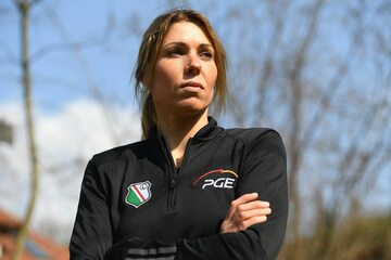 Brązowa medalistka olimpijska z Londynu w windsurfingowej klasie RS:X Zofia Klepacka
