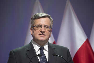 Bronisław Komorowski, były prezydent