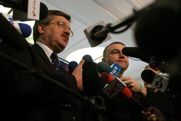 Bronisław Komorowski i Paweł Graś
