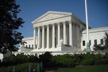 Budynek Sądu Najwyższego USA w Waszyngtonie, zdjęcie ilustracyjne