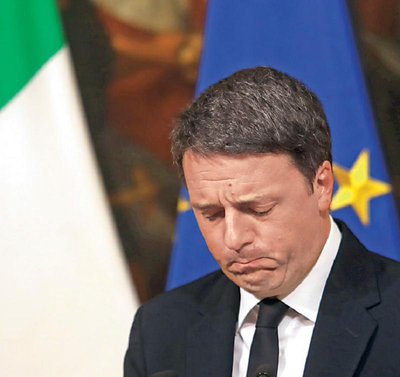 Był już premier Włoch - Matteo Renzi