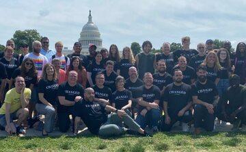 Byli aktywiści LGBT (organizacja Changed) w Waszyngtonie