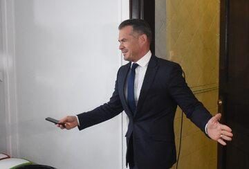 Były minister transportu w rządzie PO-PSL Sławomir Nowak