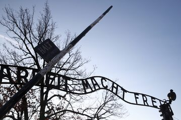 Były niemiecki nazistowski obóz zagłady Auschwitz