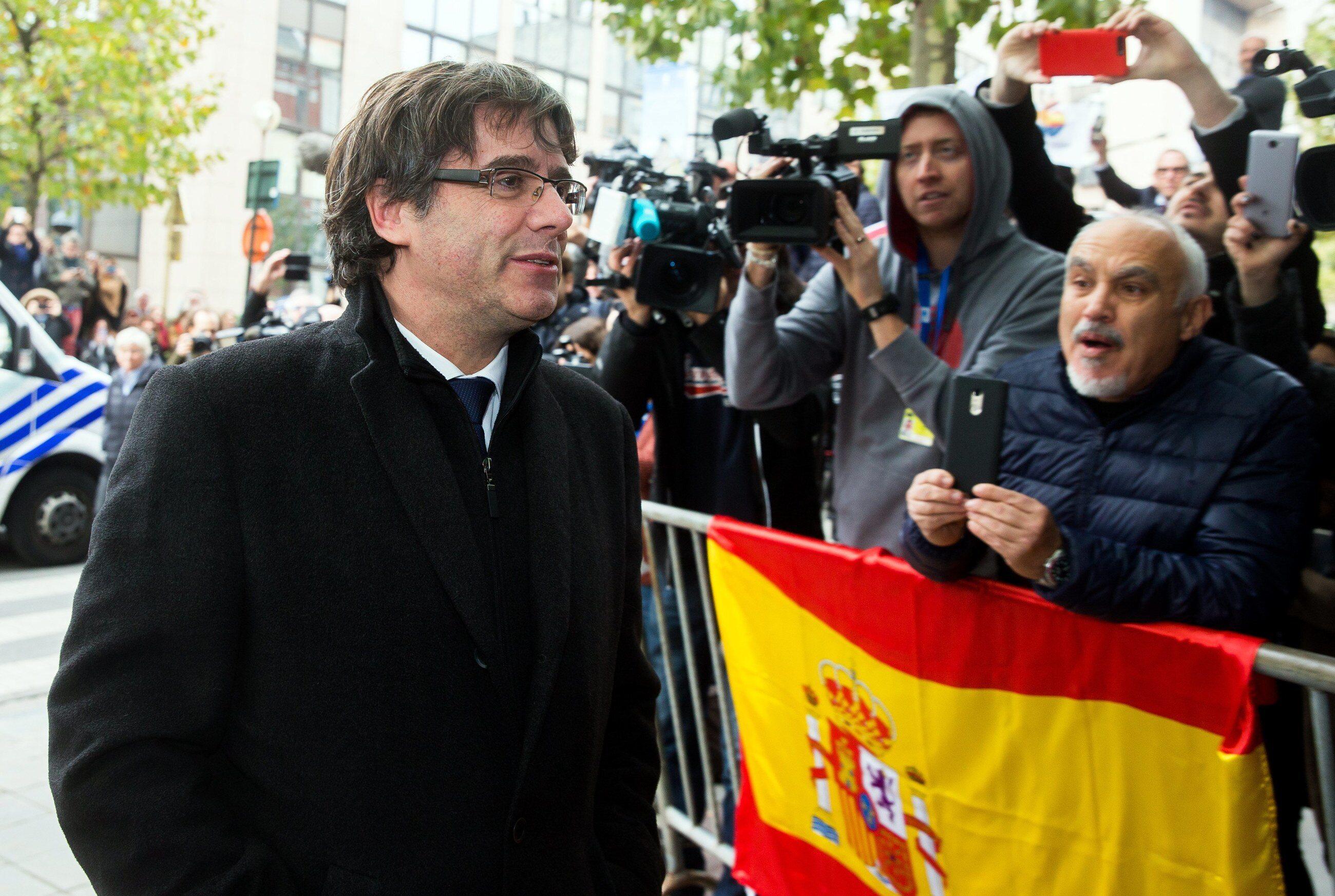 Były premier Katalonii Carles Puigdemont