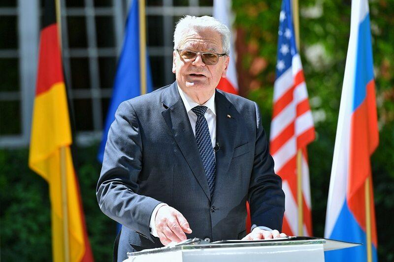 Były prezydent Niemiec Joachim Gauck