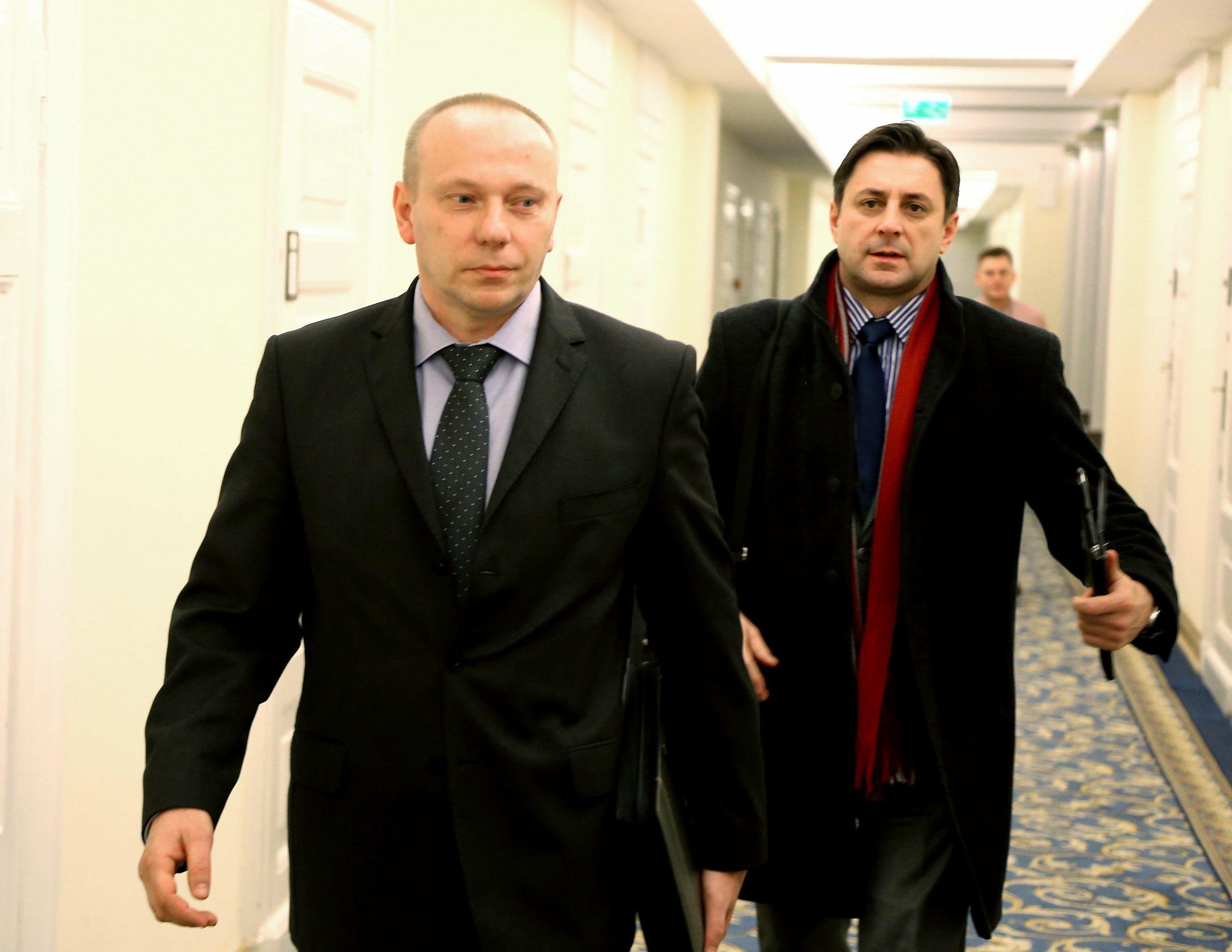 Były szef SKW Piotr Pytel i były rzecznik MON Jacek Sońta