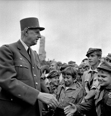 Charles de Gaulle w Polsce, 1967 rok