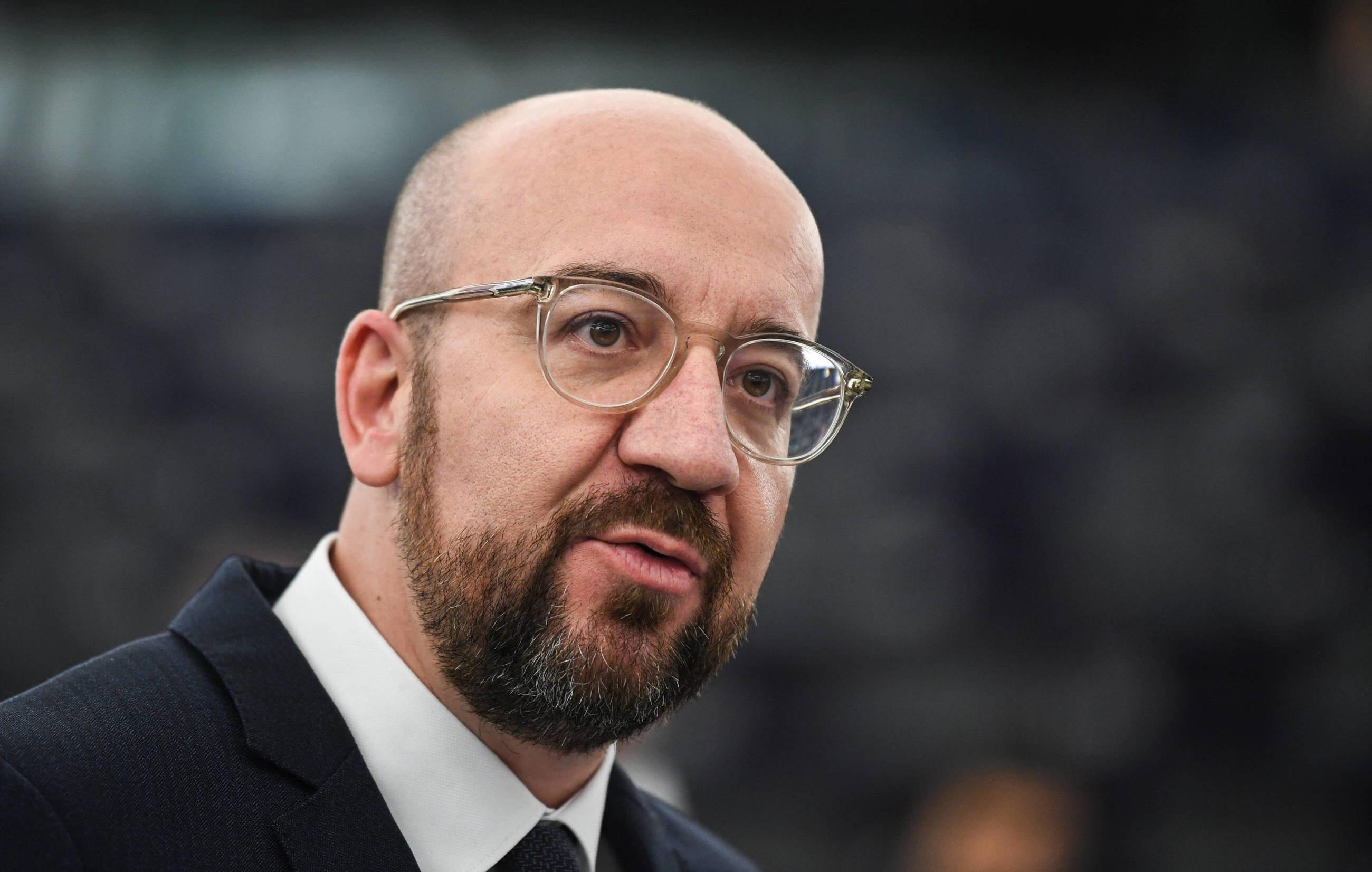 Charles Michel, szef Rady Europejskiej