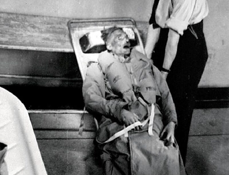 Ciało rzekomego mjr. Williama Martina