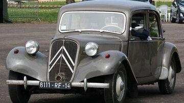 Citroën Traction Avant, samochód używany przez UB