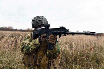 Ćwiczenia wojskowe. Zdj. ilustracyjne