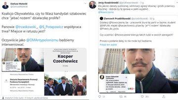 Członek sztabu Kidawy-Błońskiej, działacz Nowoczesnej Kacper Czechowicz zamieścił w mediach społecznościowych szokujący wpis.